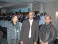 Dr and Nashara with KZN MEC Dr Sibongiseni Dhlomo